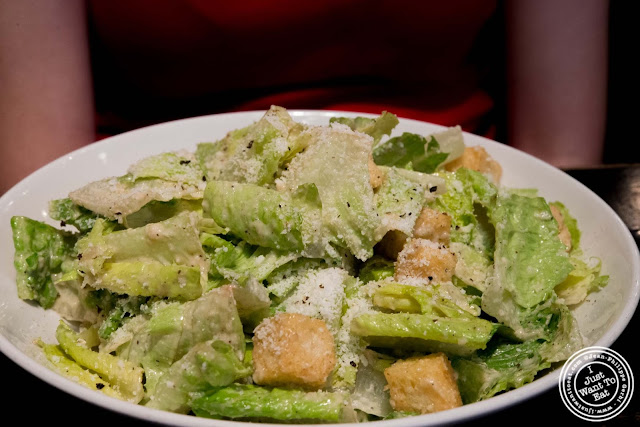 image of caesar salad at Blue Smoke in NYC, New York