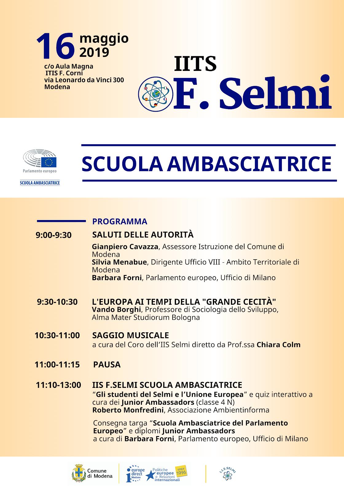 Modena 16 maggio