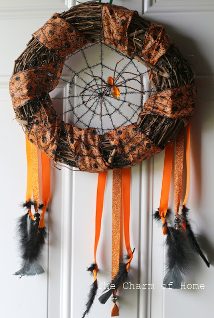 Halloween Dream Catcher Wreath: The Charm of Home