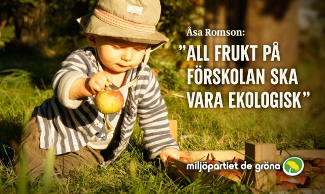 Vi vill ge våra barn giftfri och ekologisk mat
