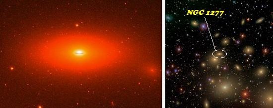 El agujero negro más masivo conocido Galaxia-NGC-1277