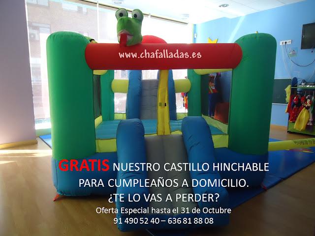 oferta castillo hinchable