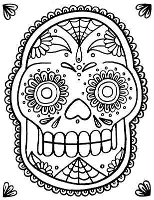 Image Result For Skull Candy Coloring