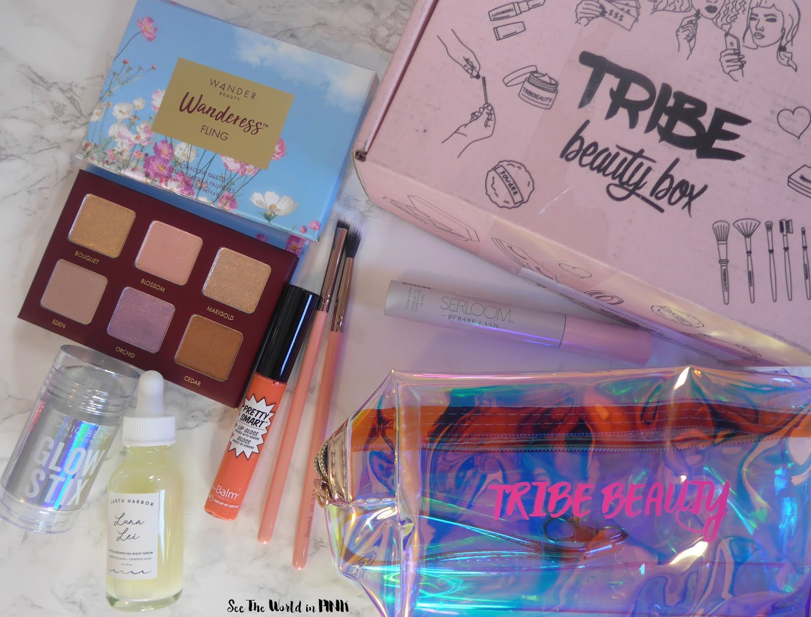 2020年2月Tribe Beauty Box-拆箱与审查