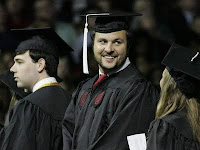 Stephen Garcia is a college graduate.