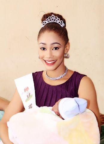 most beautiful queen in nigeria iniobong okon celebrates with new year baby photos naira. Black Bedroom Furniture Sets. Home Design Ideas