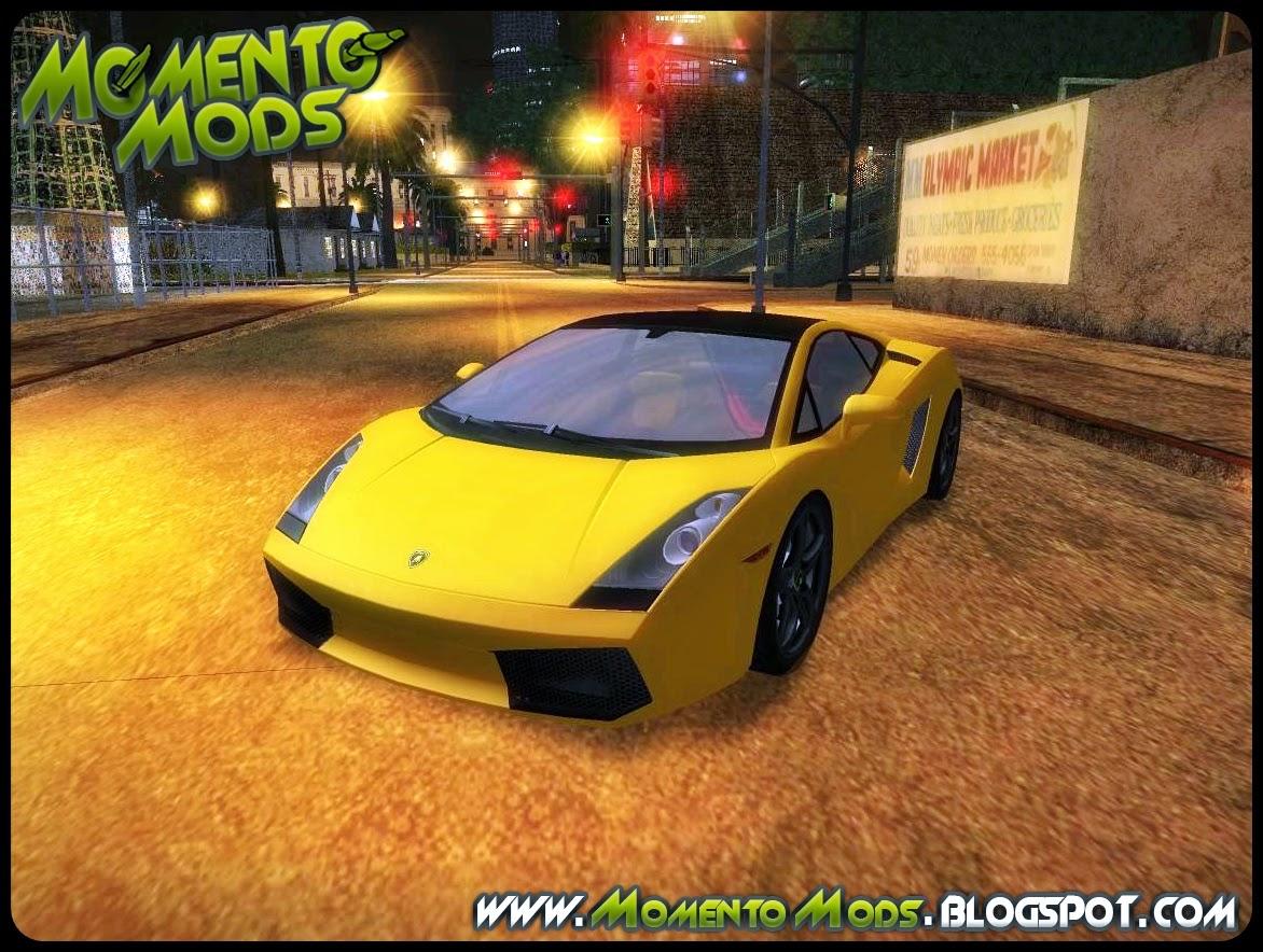 GTA SA - Lamborghini Gallardo-Se