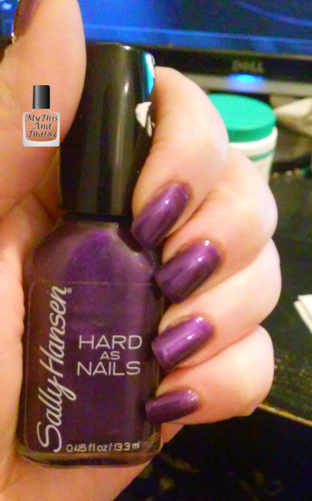 Sally Hansen Hard As Nail #770 Rock Bottom
