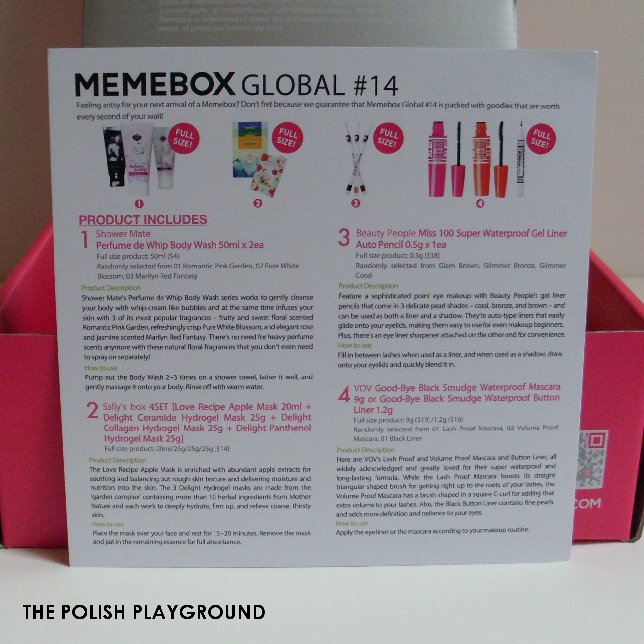 Memebox Global #14 Unboxing