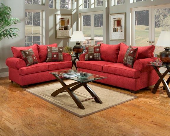 Sala De Estar Marrom Com Vermelho ~ salas de estar sofás vermelhos  Ideias decoração mobiliário