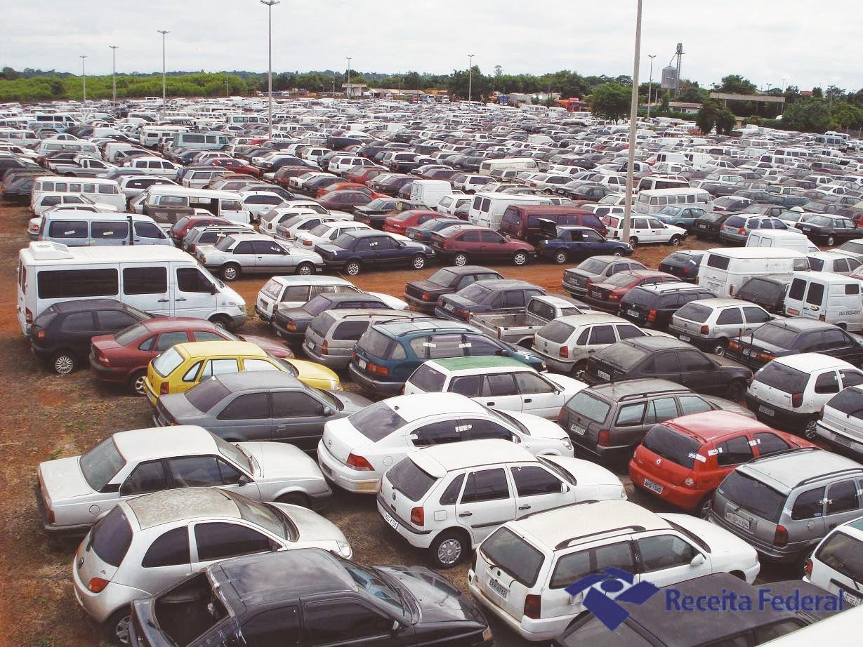 Leilão de carros apreendidos e usados