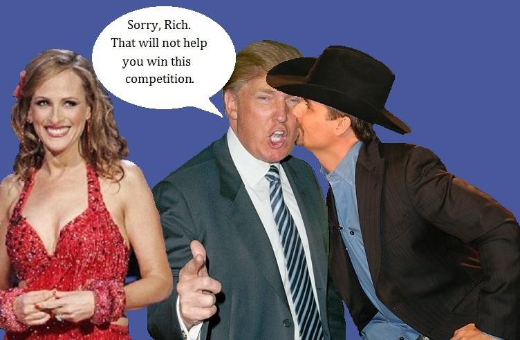 celebrity apprentice Trump   TV Night Blog