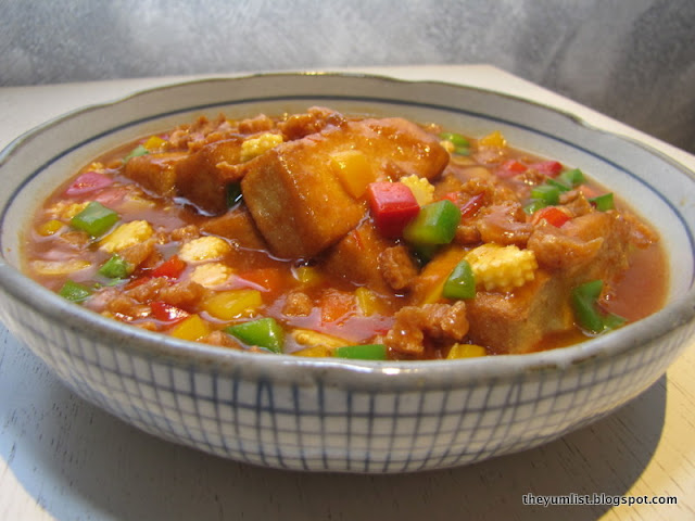 Hot and Spicy Tofu RM16.90