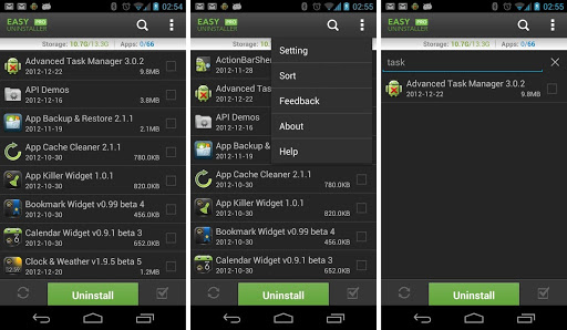 Preview Easy Uninstaller Pro apk android | Andromin