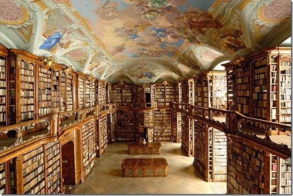 Biblioteca da Abadia de Saint-Florian - Áustria