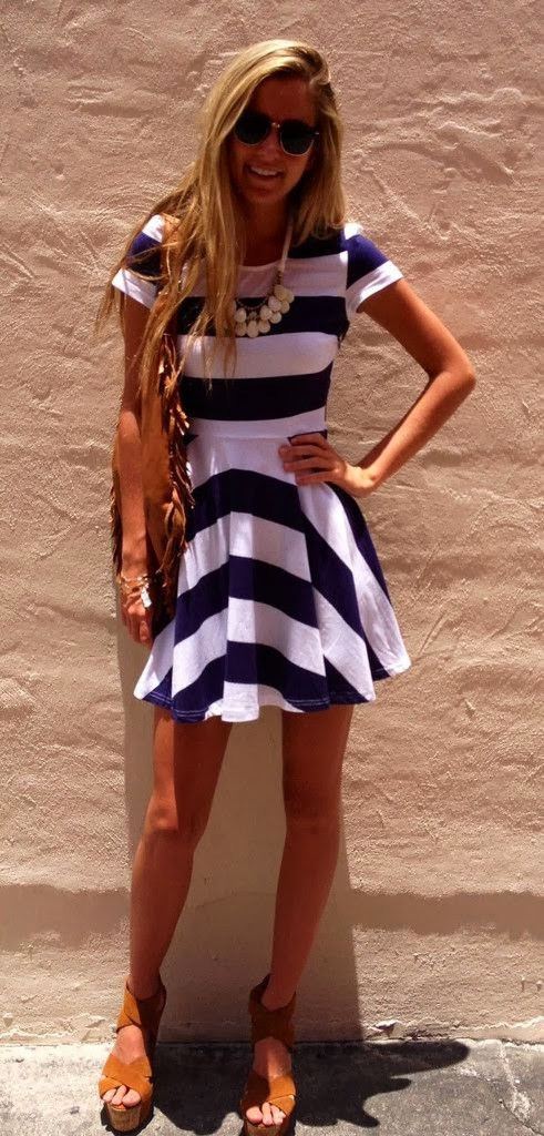 The Nautical Darling Dress
