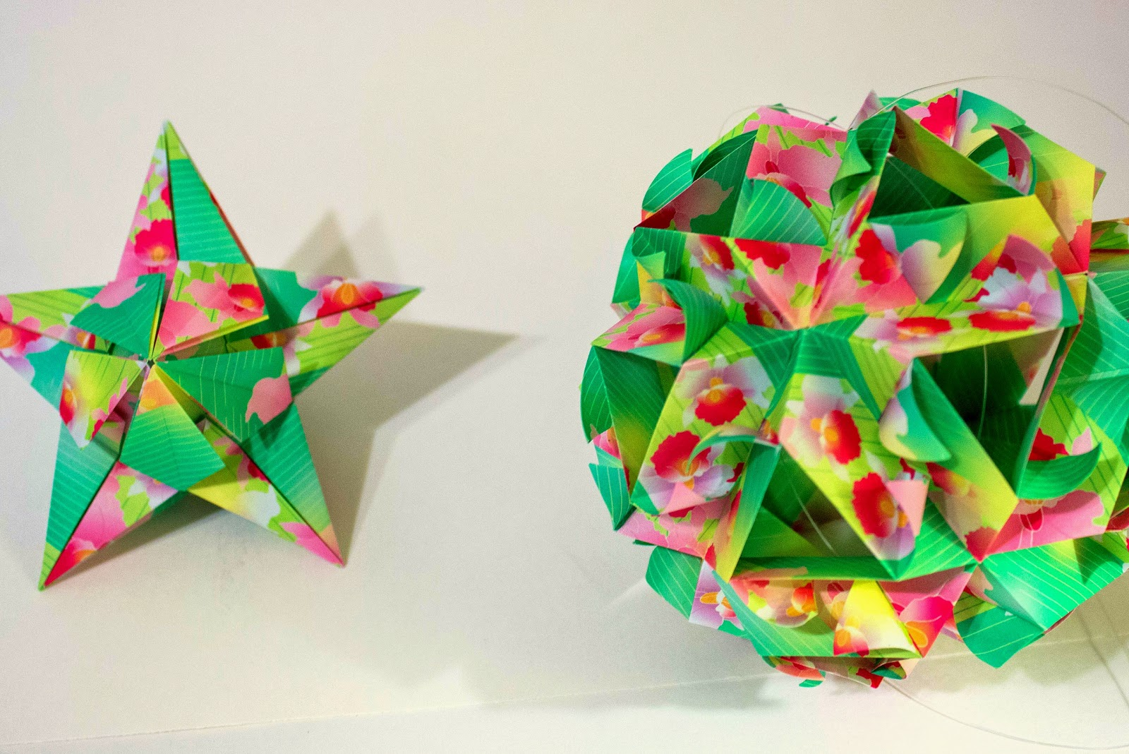 Will fold for paper may 2014 kusudama origami by ekaterina pavlovich book review jeuxipadfo Gallery