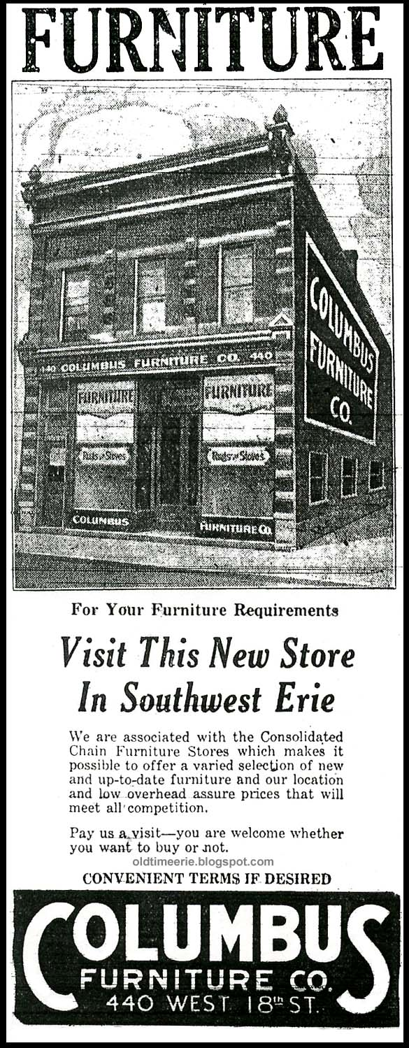 Columbus Furniture 440 West 18th St Erie PA