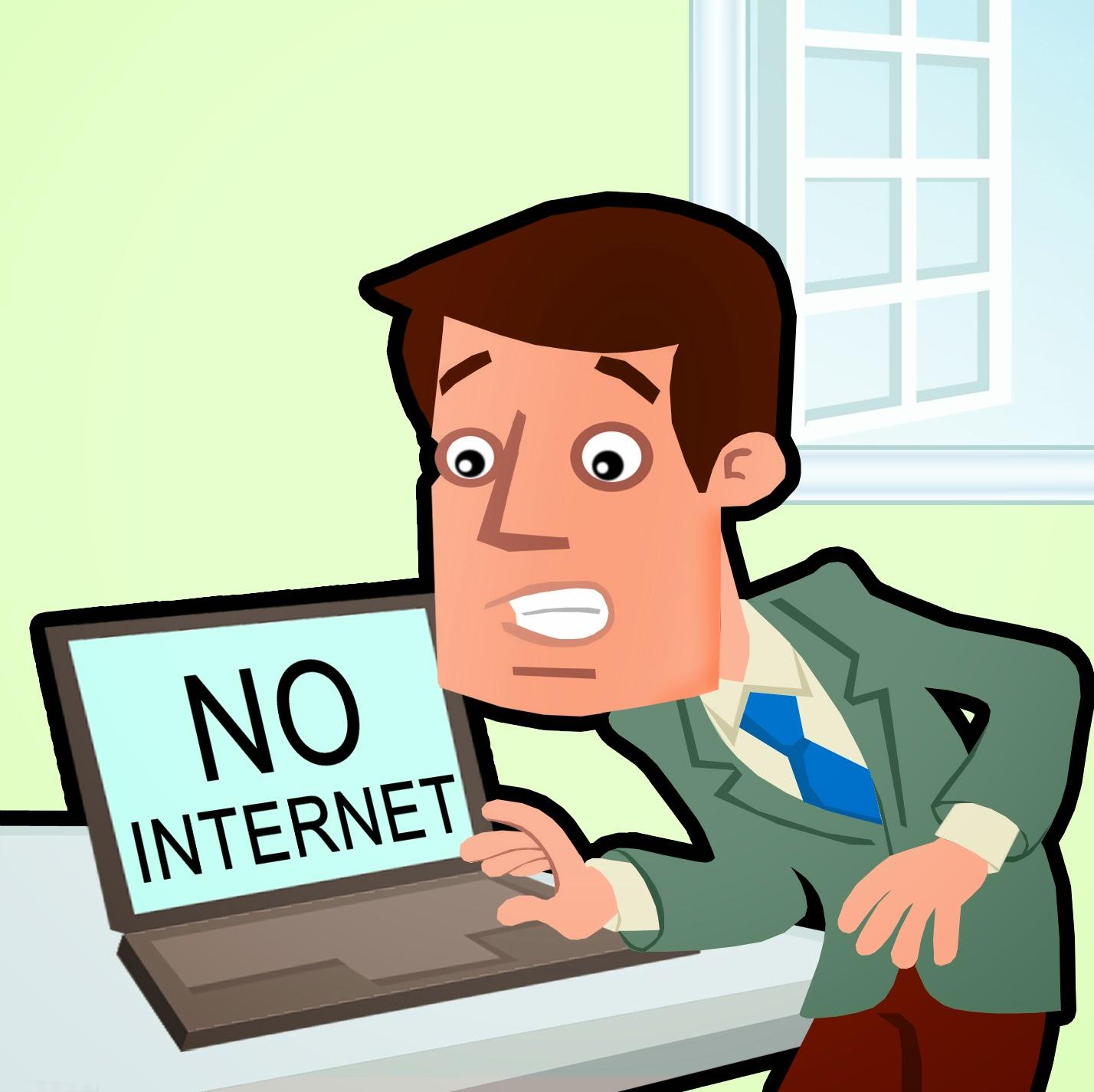 3 اشياء يمكنك القيام بها عندما ينقطع عنك  الانترنت