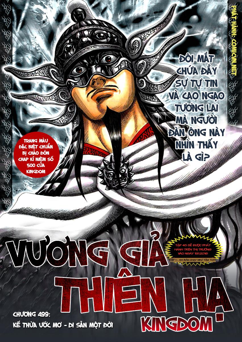 Kingdom – Vương Giả Thiên Hạ chap 499 Trang 2