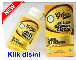 Walatra G-Sea Jelly Gamat Rasa Jeruk
