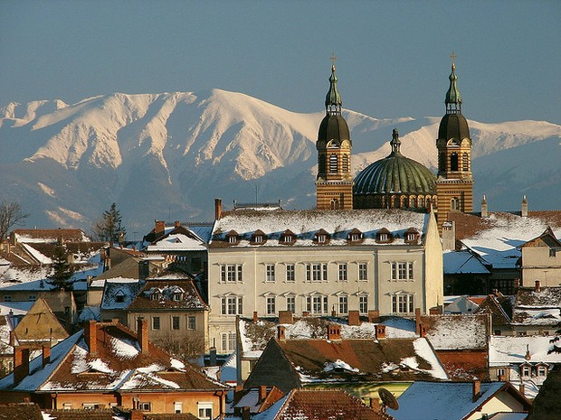 Orthodox Cathedral - Sibiu, Romania