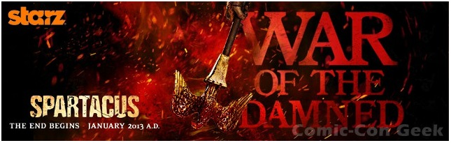 Spartacus: War Of The Damned 3x02 Wolves At The Gate HDTV+720P 389MB+1.24GB