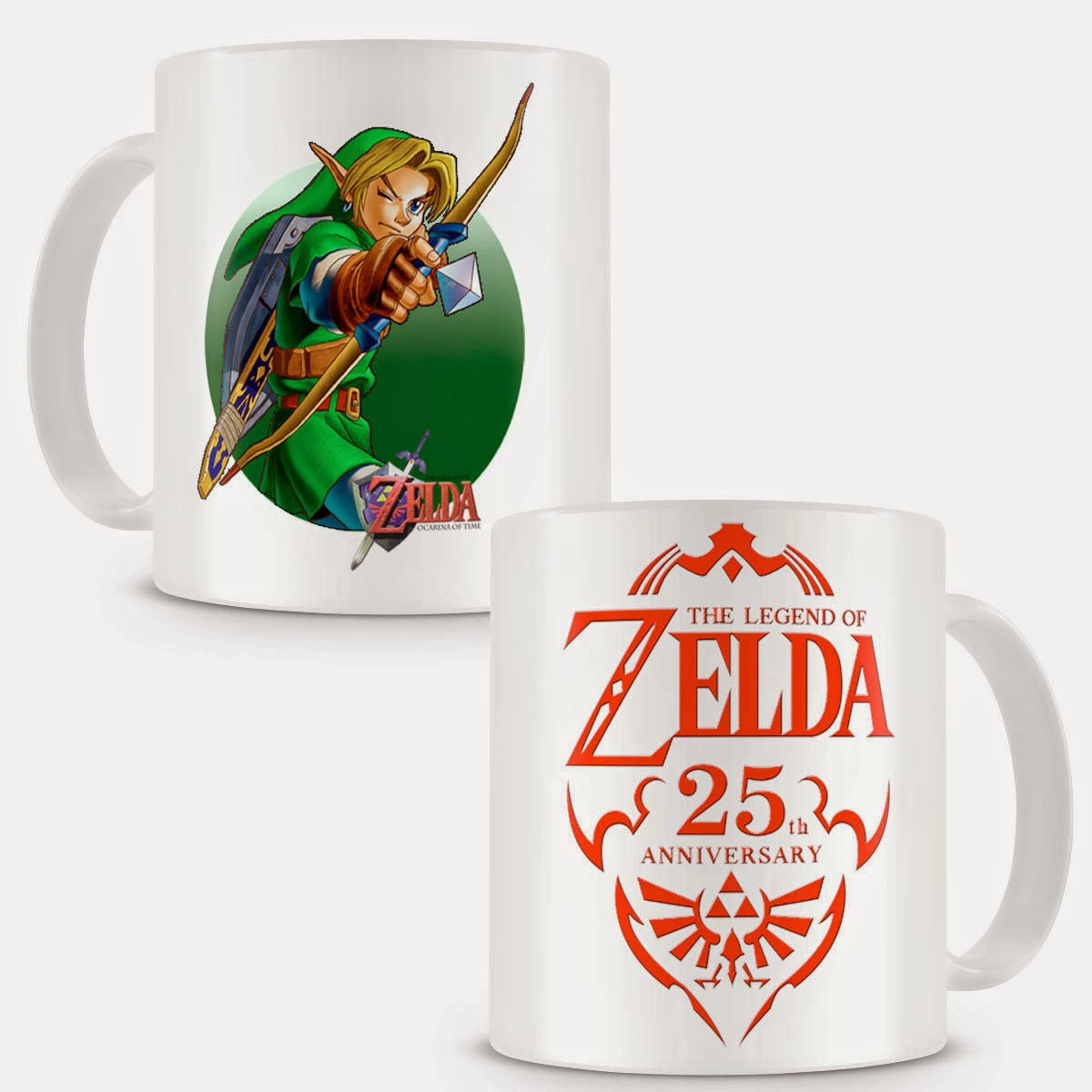 Taza Legend of Zelda 25 Aniversario