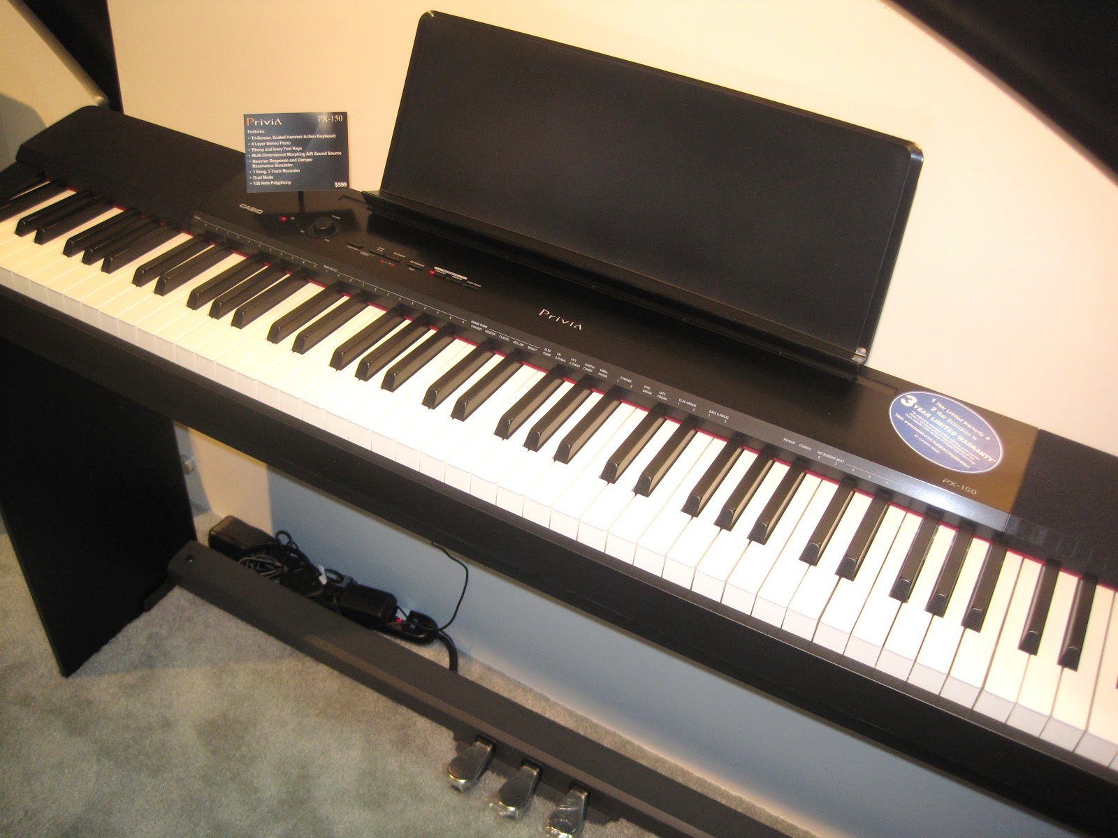 az piano reviews review yamaha p35 casio cdp120