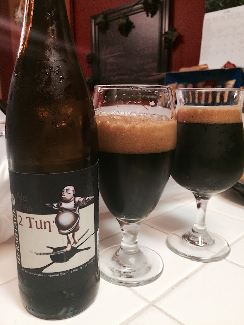 Hermitage Ale of the 2 Tun Imperial Stout 5
