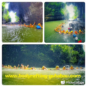 Air Terjun Body Rafting