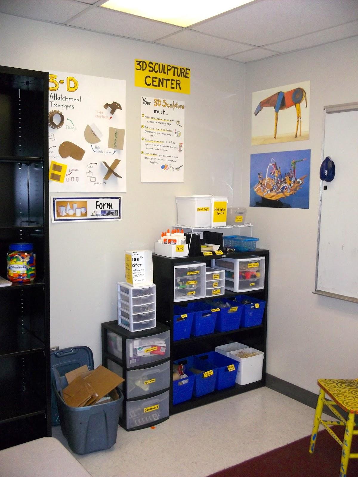 Minimalist Classroom Management ~ The awakened artist a choice based art classroom