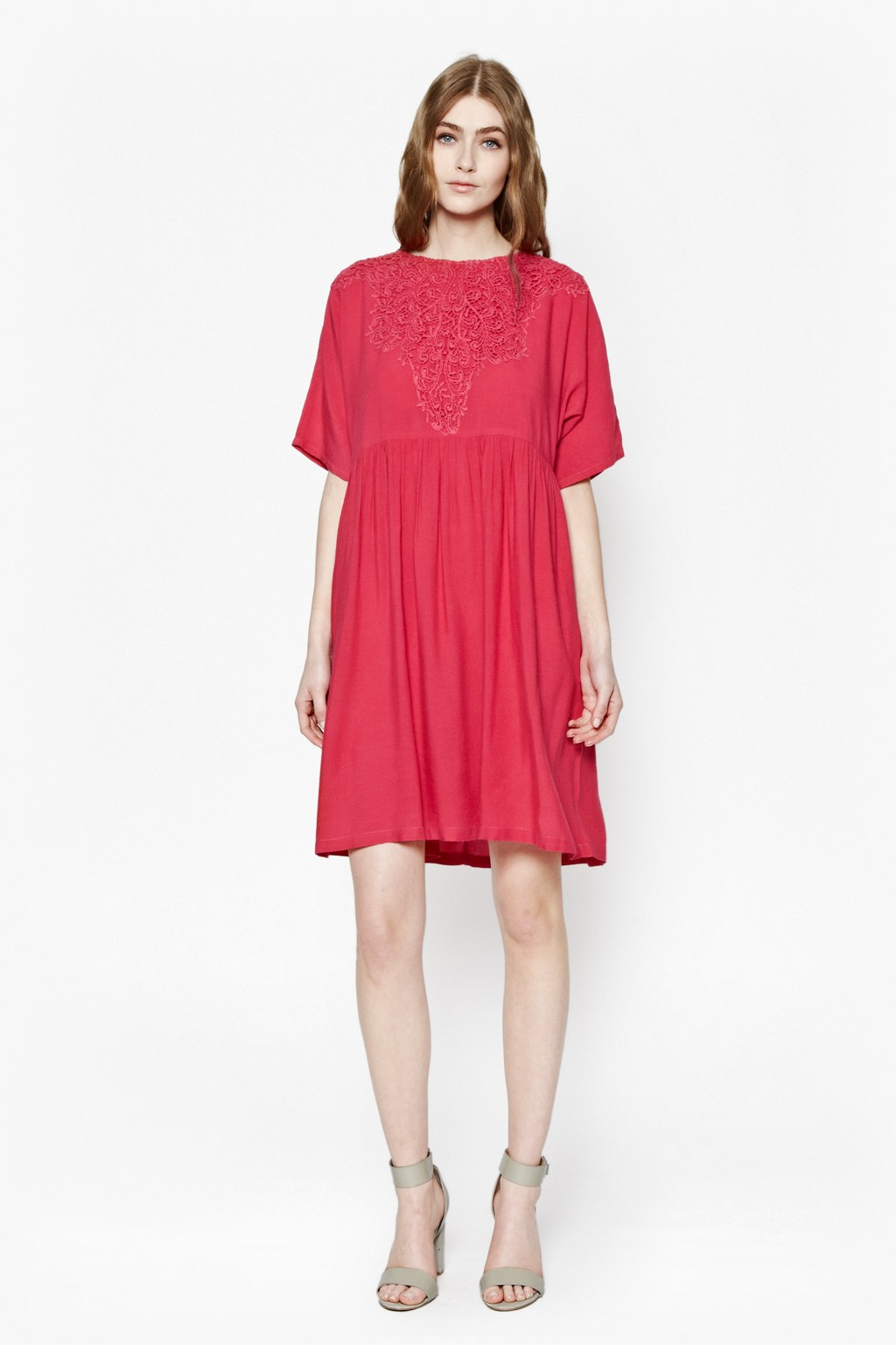 Great Plains Dreamcatcher Lace Tunic Dress