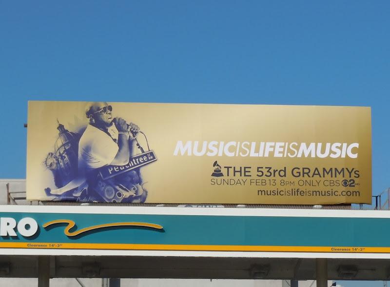 53rd Grammys billboard