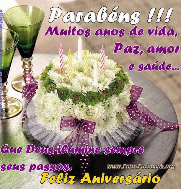 Aniversário Mensagens e Imagens para Facebook