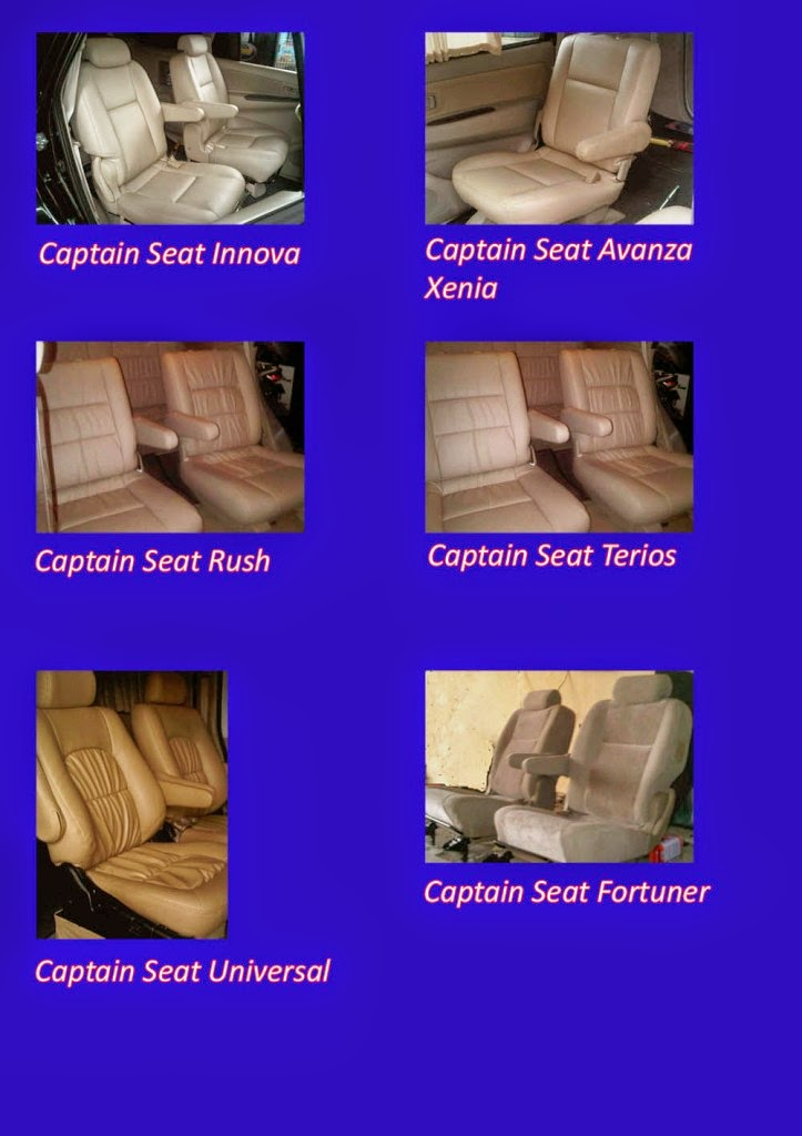 Jok Mobil Captain Seat Bisa Untuk Semua Garansi 5 Tahun