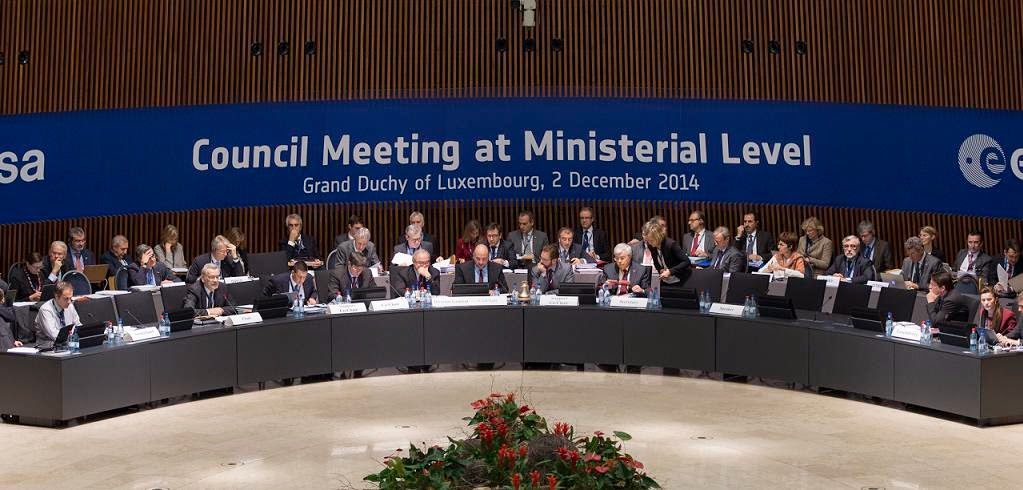 ESA Council Meeting at Ministerial Level, Luxembourg, on 2 December 2014. Credit: ESA–S. Corvaja, 2014