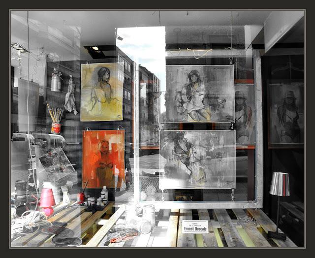 MANRESA-PINTURA-EXPOSICIONS-ART-EROTIC-FOTOS-RETRATS-DONES-APARADORS-POMA-EVA-PINTOR-ERNEST DESCALS-