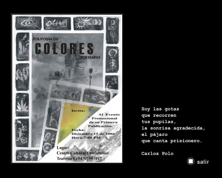 """Portada """"Polifonía de Colores"""""""