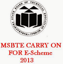 MSBTE Carry On
