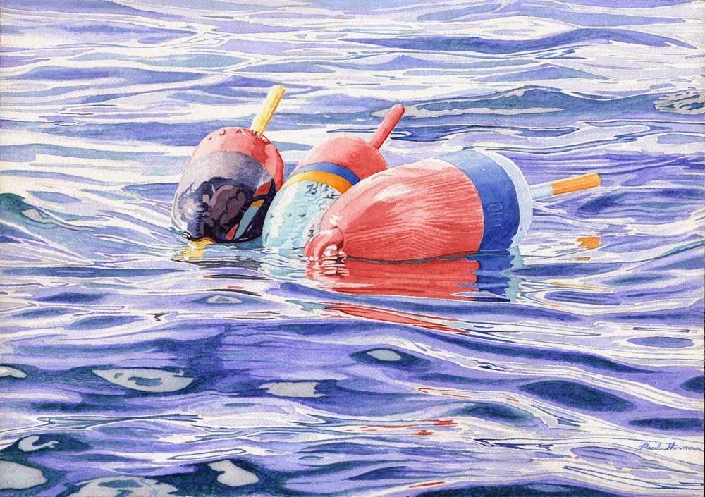 """Buoy Tangle II"" by Paul Sherman - SOLD"