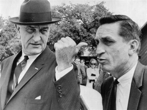 President Johnson with SAIC Lem Johns