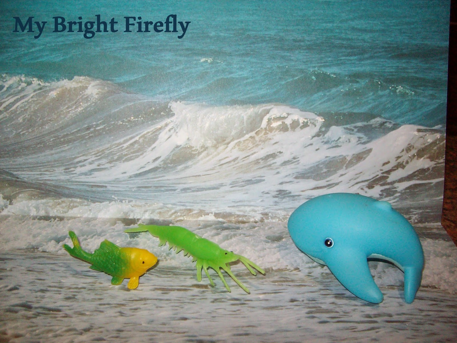 My bright firefly rainbow fish crafts and play for toddlers for Rainbow fish and the big blue whale