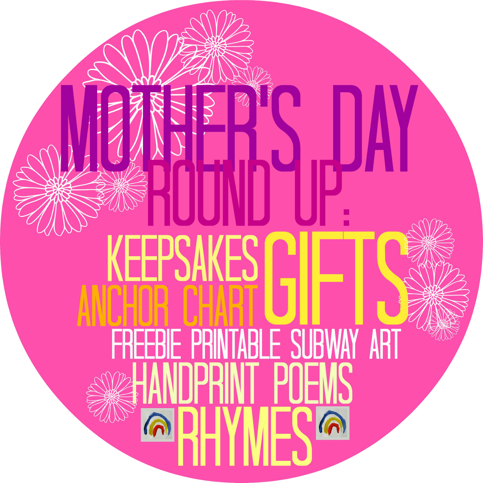 Mother's Day RoundUP of Ideas + Inspiration via RainbowsWithinReach
