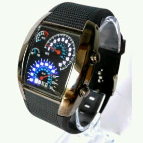 jam tangan speedometer anti air