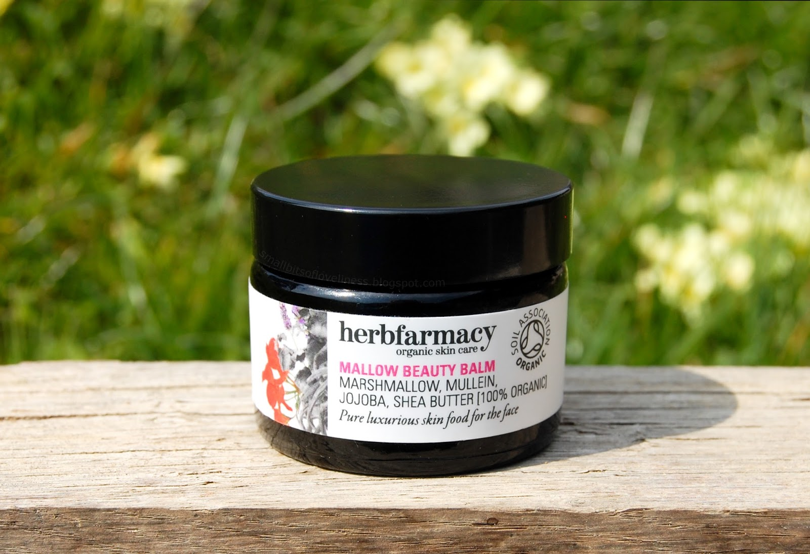 Herbfarmacy Mallow Beauty Balm, 100% Organic
