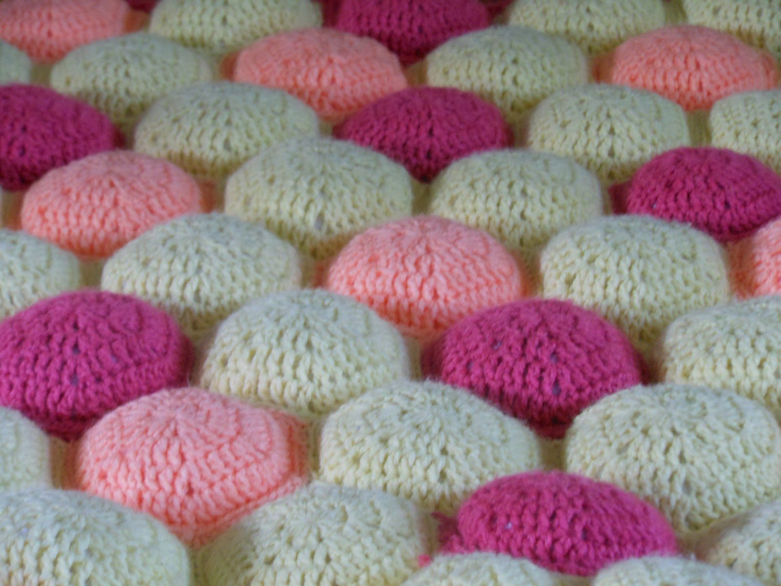 Craft Disasters and other Atrocities: Hexa-Puff Baby \