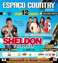 ESPAÇO COUNTRY DE TIÚMA - SHELDON FÉRRER.