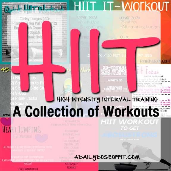 11 Awesome High Intensity HIIT Workouts