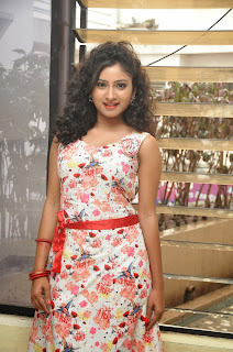 Actress Vishnu Priya Latest Pictures in Short Dress at Nenu Naa Friends Movie Press Meet  9.JPG